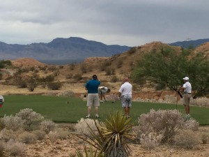 Participants of the 10th Annual Mesquite Chamber of Commerce Golf Tournament were graced with cooler temperatures last Saturday it what might be their most successful fundraiser yet. Submitted photo.