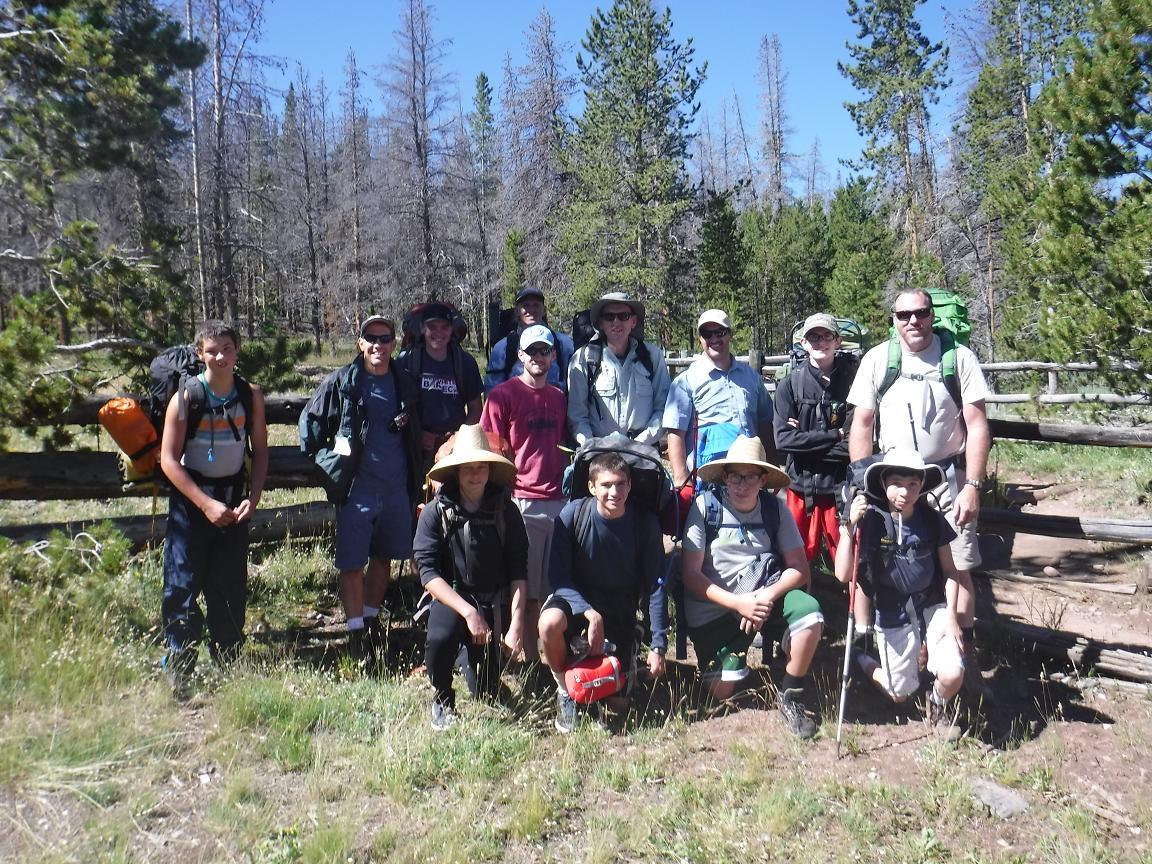 Scouts participate in 50-mile hike