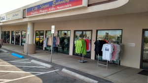 City Shoppes Embroidery has been at their current location for about three years now. That will all change when they switch to their online business platform in October. Photo by Stephanie Frehner.