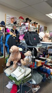 The products that City Shoppes has provided over the past twelve years is endless, ranging in hats and other clothing to bags and accessories. Photo by Stephanie Frehner.