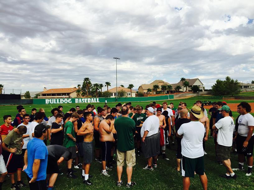 Football preview 2015 at Virgin Valley High School