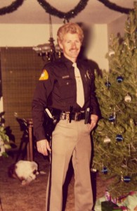 Officer Mike Van Houten on his first day as a Mesquite Police Officer in 1987. Courtesy photo.