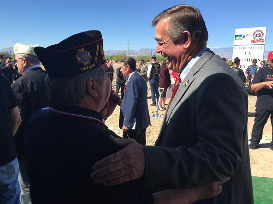 Under pressure from Hardy, long-overdue Pahrump VA clinic back on track