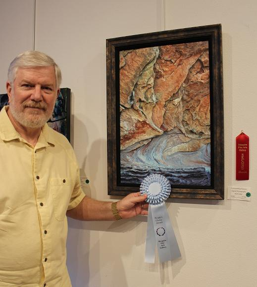 Alder takes People's Choice in Art Exhibit