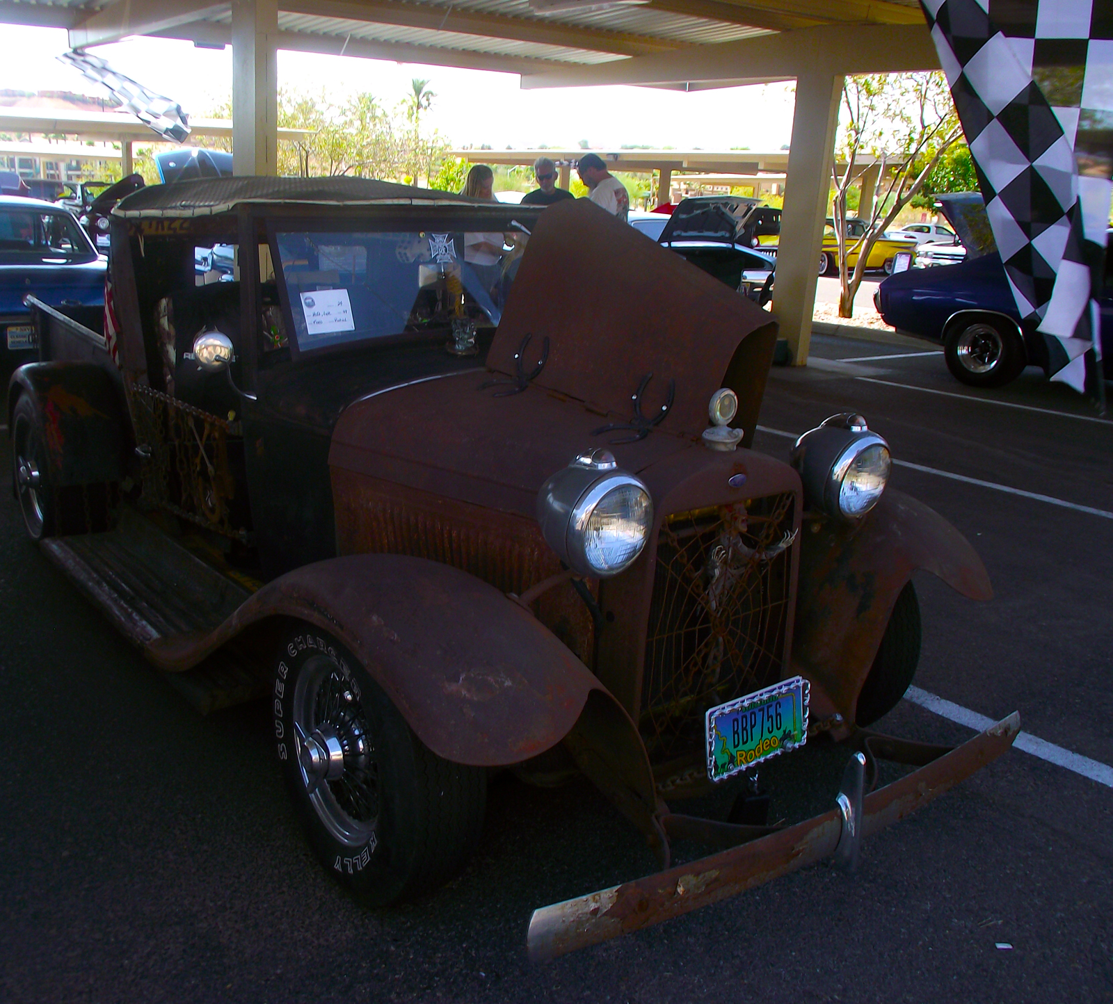 Classic Rods Fuel Up For A Hot Weekend Mesquite Local News 1949 Chevy Rat Rod Lyle Huffs One Of The Two Chosen As Top 25 Pick Eurekas 2015 3rd Annual Run Sponsored By Boulder City Cruisin