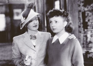 Bette Davis and Betty Lynn from June Bride - 1948, Warner Bros