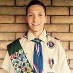 Tobler receives Eagle Scout Award
