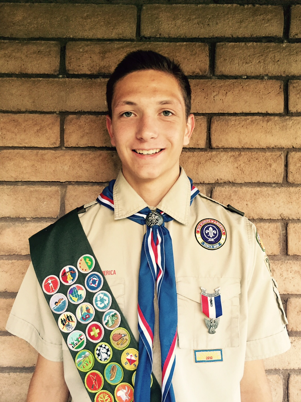 Tobler receives Eagle Scout Award