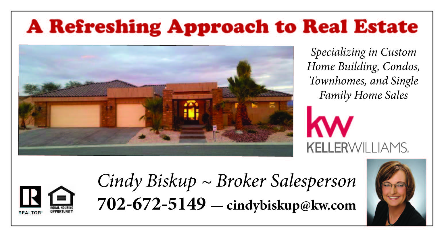 Featured Realtor: Cindy Biskup