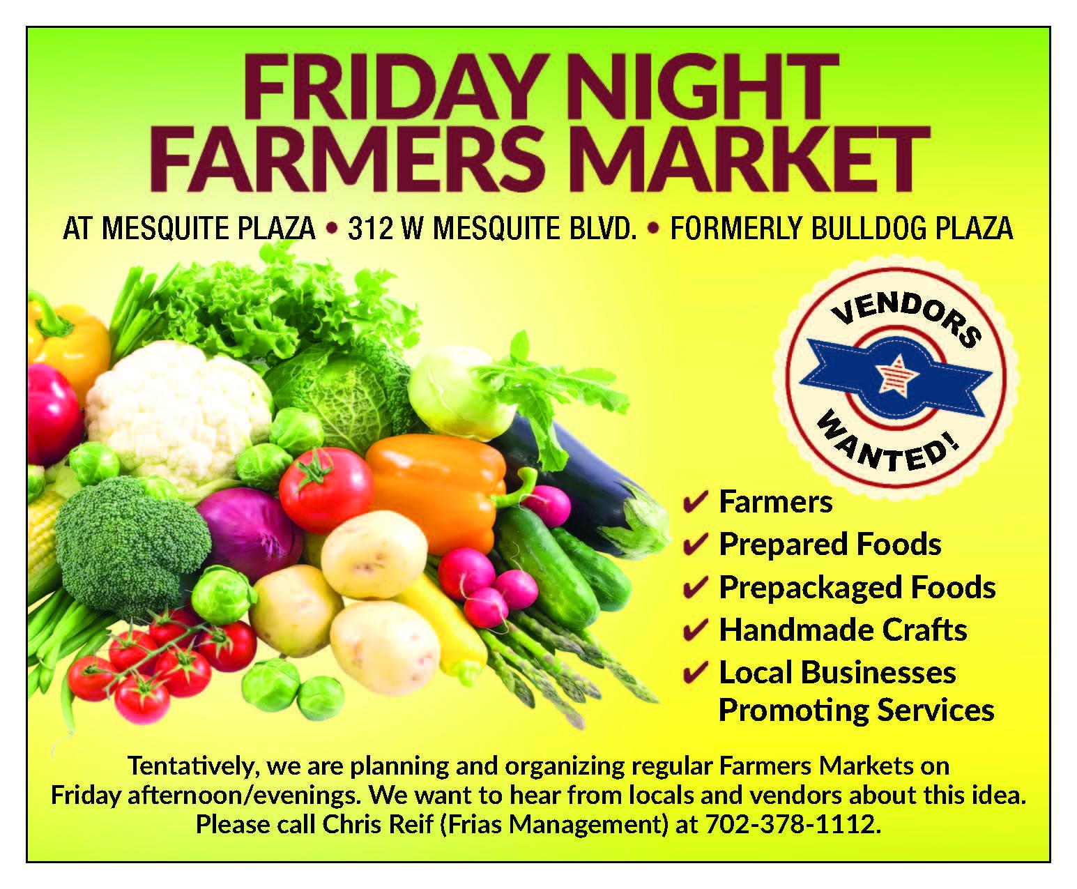 Second Farmers Market bringing in more vendors