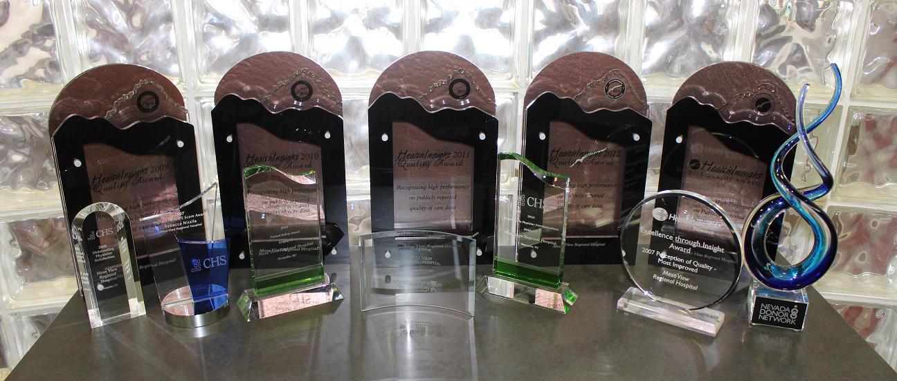 Mesa View Regional Hospital earns fifth Quality Award