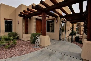 540 Terrace, beautiful Southwestern Custom Home 2742 sq ft, 3/3 with 2x6 construction. View of the Virgin Mountains $415,000