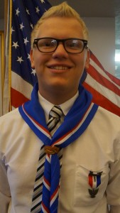Parsons awarded Eagle Scout Rank-09-22-15
