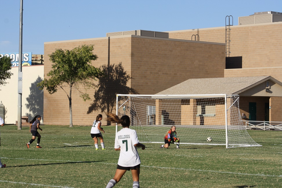 Defense leads soccer girls Dawgs over Jaguars 3-0