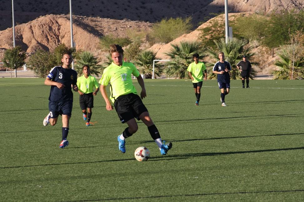 Bulldog soccer guys pluck Eagles 6-1