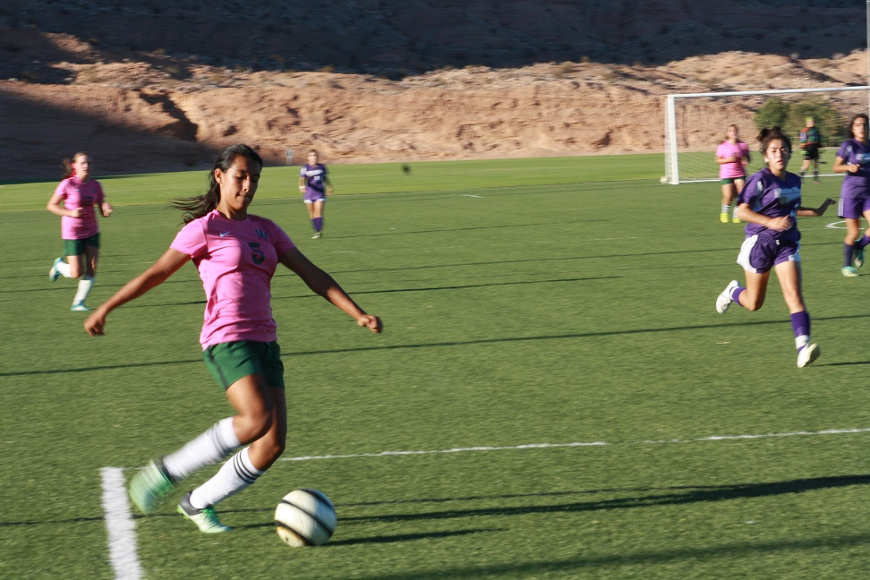 Bulldog soccer girls tie for first in Sunrise League, defeat Miners