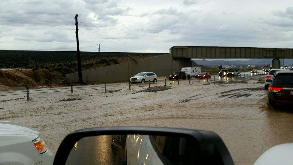 Most roads open after night of storms