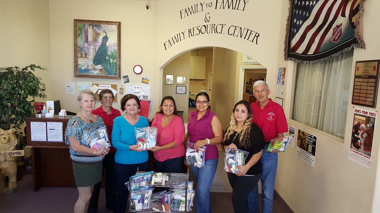 Exchange Club Donates to Salvation Army