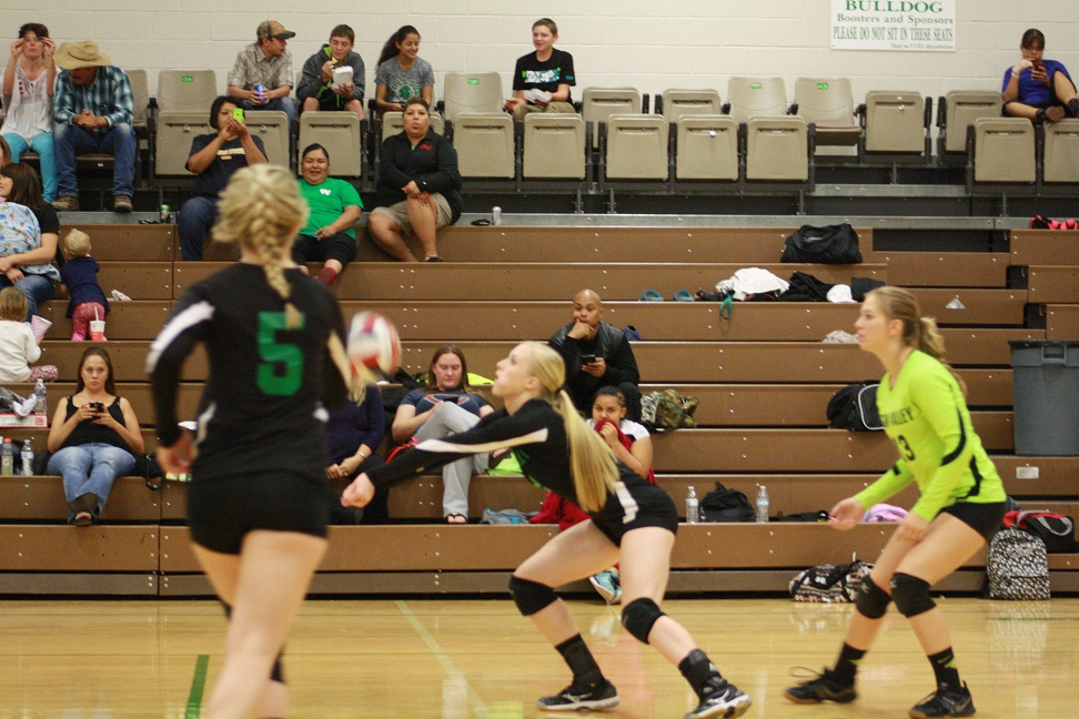 Lady Dawg volleyball team clinches 1-A Sunrise Conference title