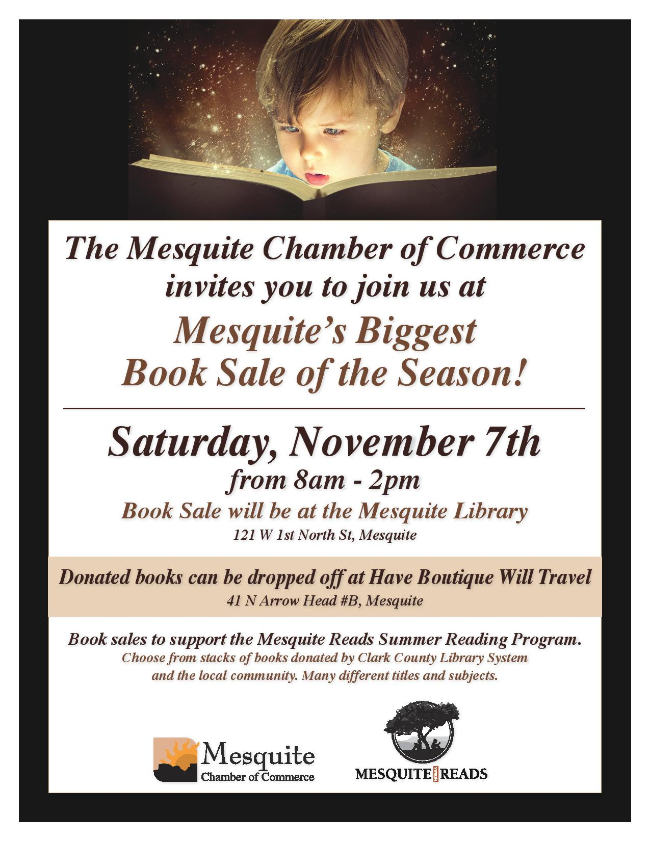 Mesquite Chamber of Commerce Book Sale Set