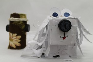 Paper Dog by Andrea Lopez_2014 K to 5 First Place Winner