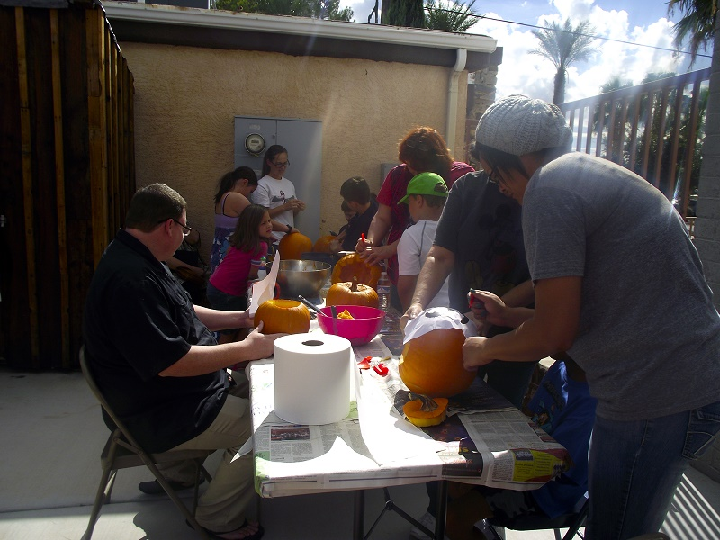 The Museum's Backyard Pumpkin Party