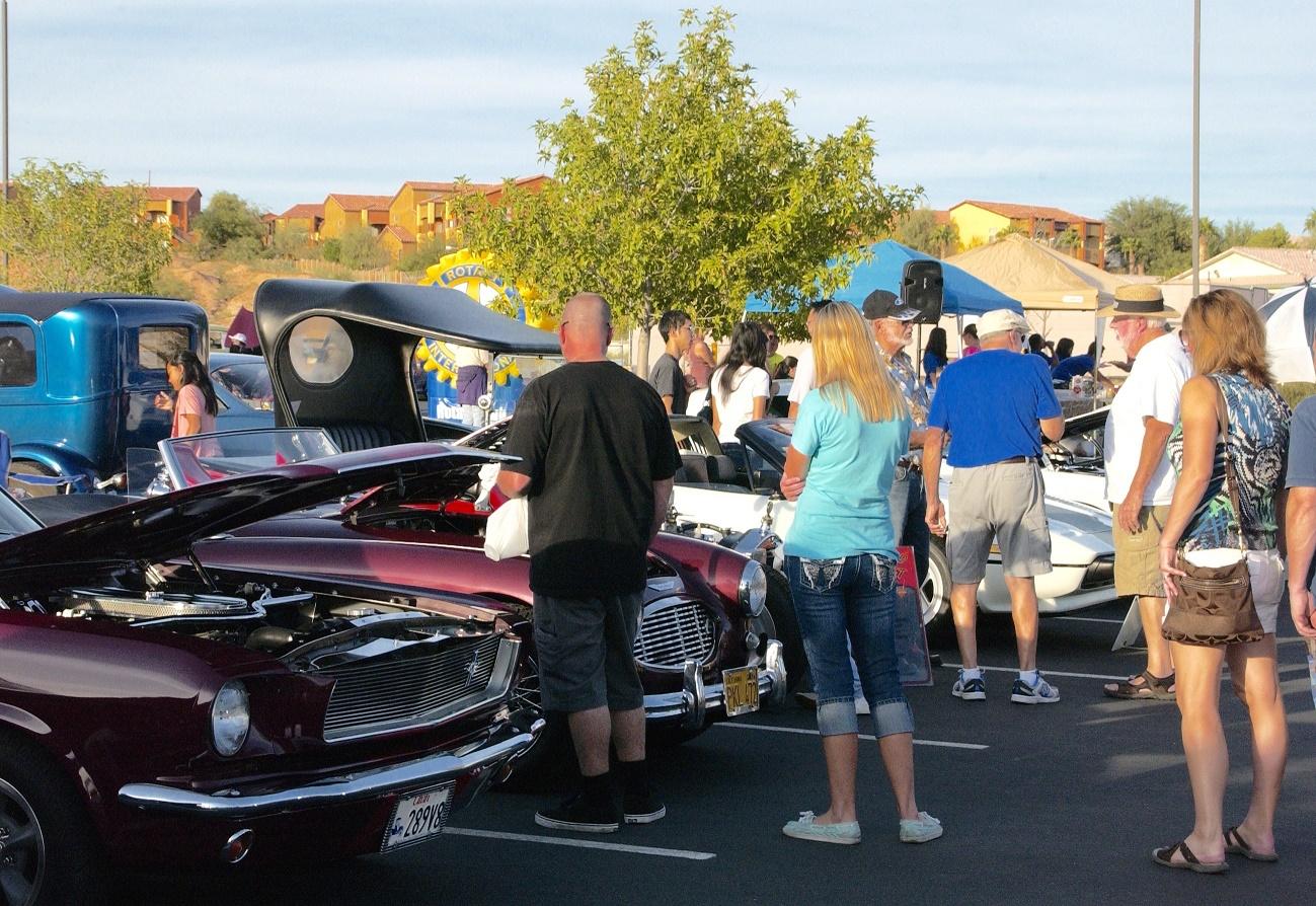 Rotary Car Show Shines at Eureka
