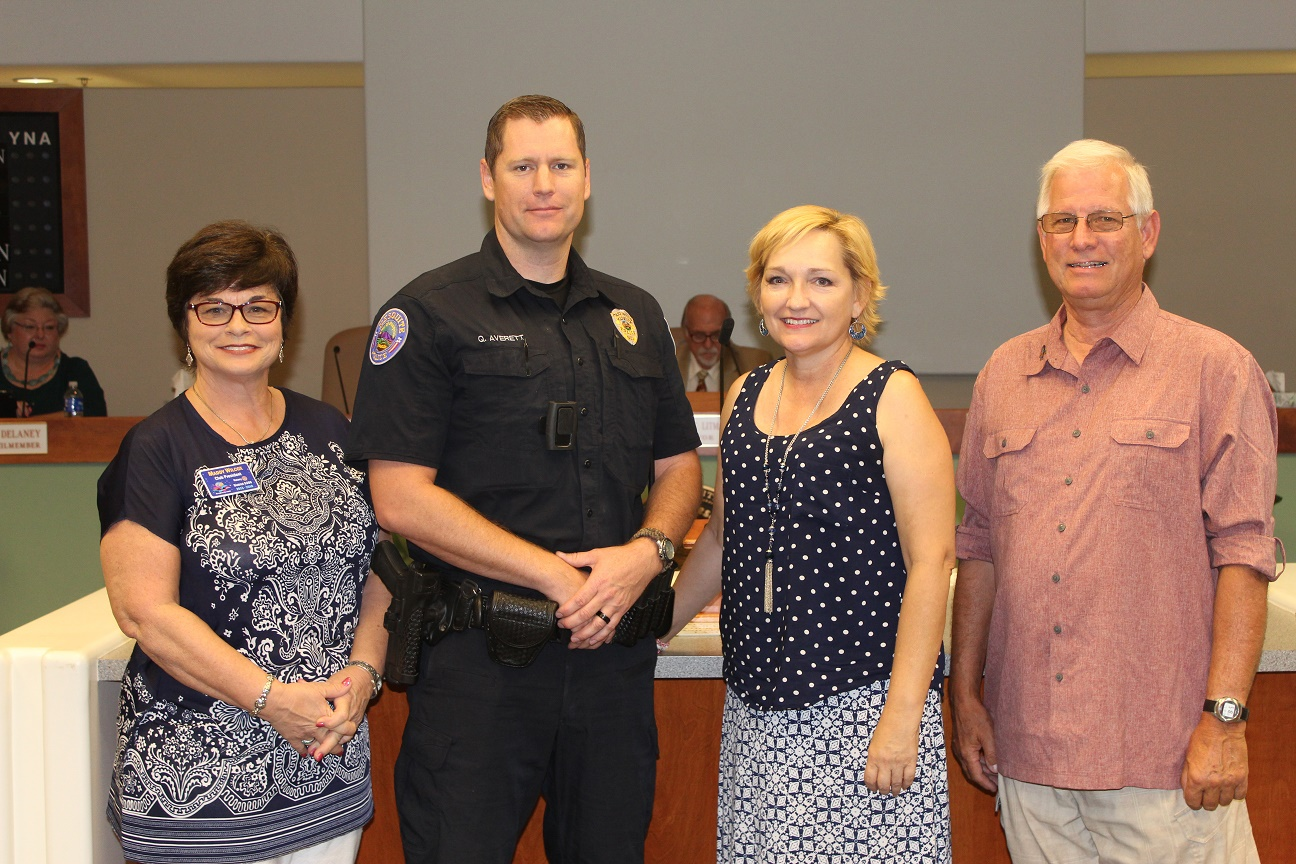 Council honors officer for SOAR award