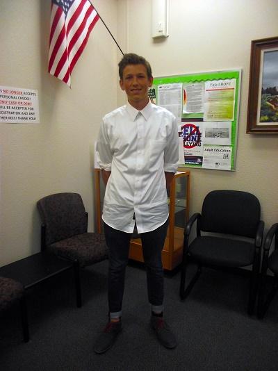 German Exchange Student enjoys different American education