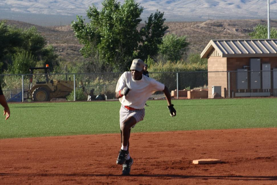 Senior softball players invade Mesquite