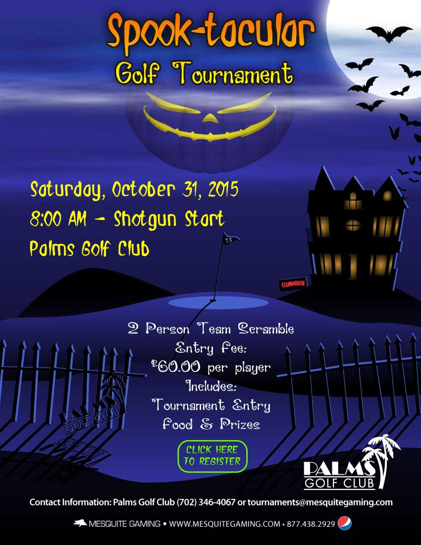 Palms Golf Club to host Spook-tacular Golf Tournament