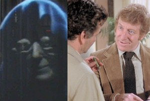 1. Holgram of Stars Emperor voiced by Revill_ With Peter Falk in Columbo
