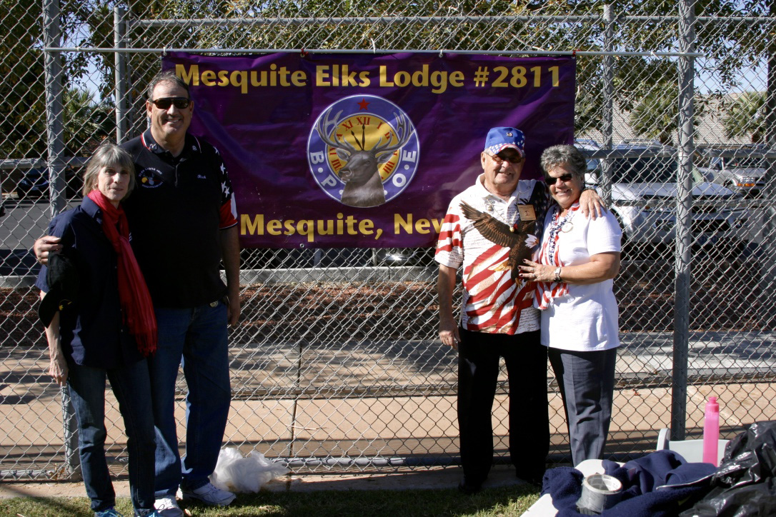 Nevada State Elks President visits Mesquite Lodge