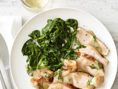 Sun City Gourmet Club: Pork Marsala With Spinach