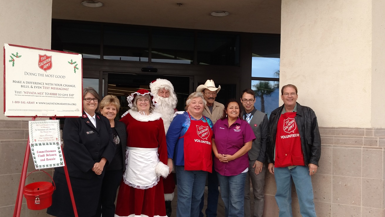 Salvation Army Kicks Off Kettle Drive; Need Volunteers