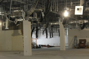 The central area of the old Mesquite Star will be renovated into a 7,000-plus-square-foot meeting space and convention area in the Rising Star Sports Ranch Resort when it opens in December 2016. Photo by Barbara Ellestad.