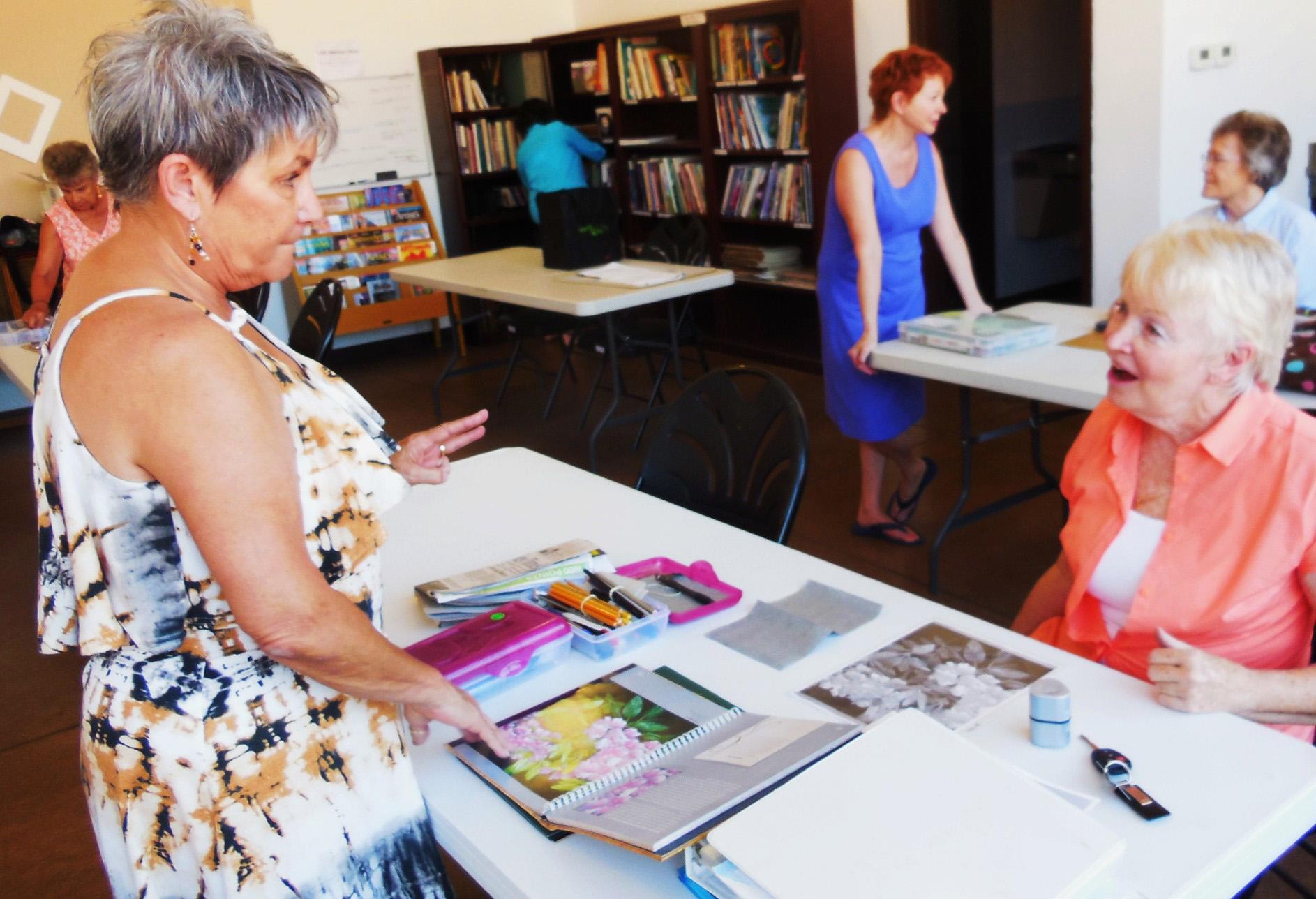 VVAA offers evening drawing class