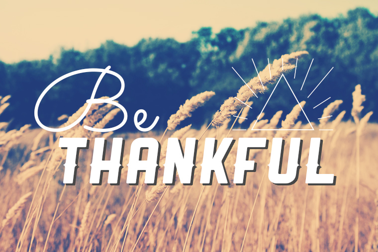 2015 Thanksgiving Thankful List