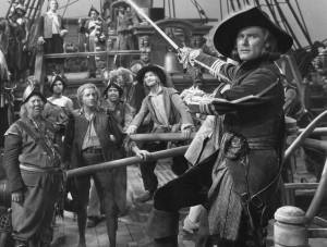Errol Flynn in a still from Captain Blood - Warner Bros