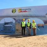 Breaking ground on Mesquite's future
