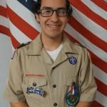 Flores receives Eagle Scout Award