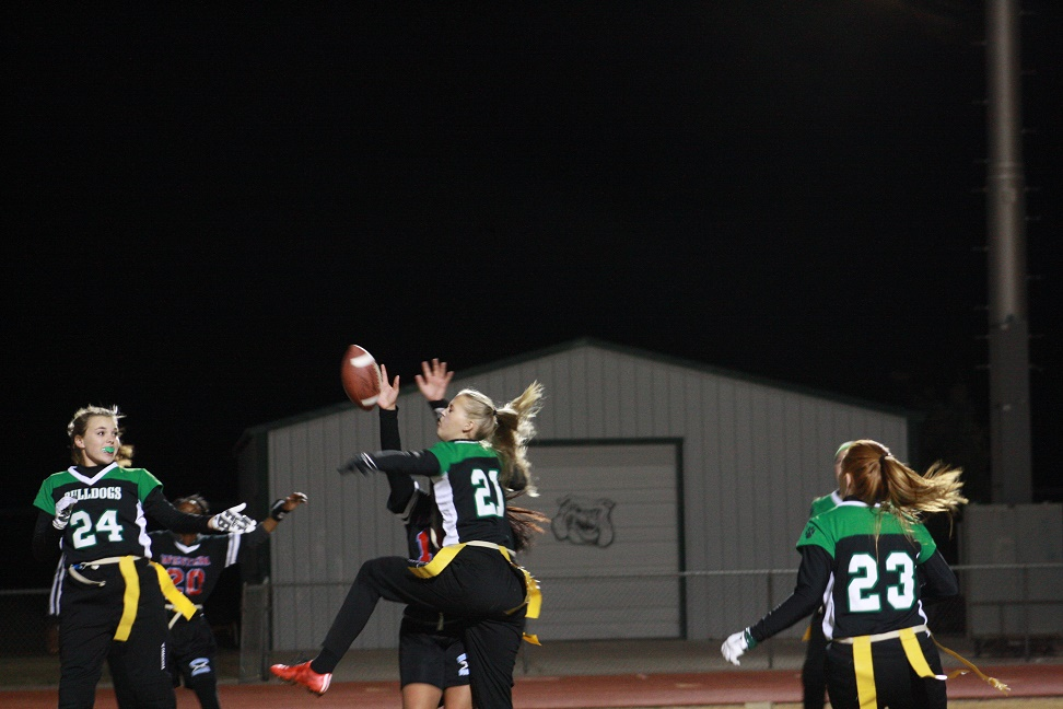 Gridiron Gals run over Warriors 46-0