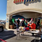 Santa Partners with AM/PM for Fundraiser
