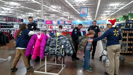 Mesquite Police Announce 2016  Shop with a Cop