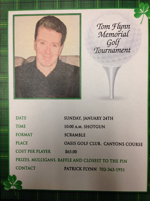 Tom Flynn Memorial Golf Tournament
