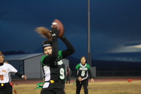 Gridiron Girls Comeback Falls Short, Lose to Dragons 25-20