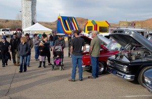 Car enthusiasts of all ages were attracted to the over 700 cars at the annual Mesquite Motor Mania classic car show event over Martin Luther King holiday weekend. Photo by Burton Weast.