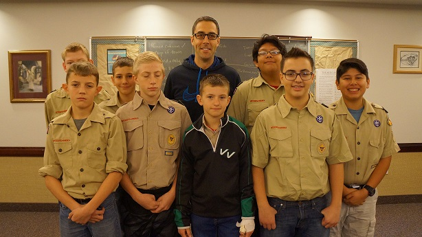 Virgin River Valley Boy Scouts Hold Merit Badge Pow Wow