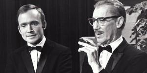 Dick Cavett with Groucho Marx. Photo courtesy of Dick Cavett