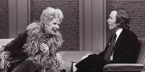 Dick Cavett with Lucille Ball. Photo courtesy of Dick Cavett
